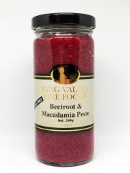 Beetroot & Macadamia Pesto