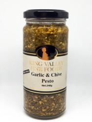 Garlic & Chive Pesto